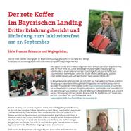 Der rote Koffer im Bayerischen Landtag - Ruth Waldmann SPD