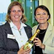 Ruth Waldmann und Helga Schmitt-Bussinger