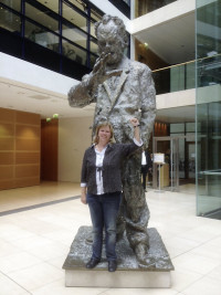 Willy Brandt besucht