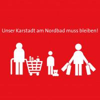 Unser Karstadt am Nordbad muss bleiben!