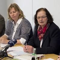 Ruth Waldmann, Angelika Weikert, Doris Rauscher