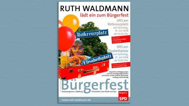 Bürgerfest, Rotkreuzplatz 14.7., Elisabethplatz 21.7.